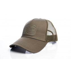 Sapca Ridgemonkey APEarel Dropback Pastel Trucker Cap Brown